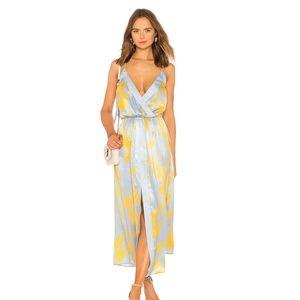 * NEW House of Harlow Mareena Dress Blue C49